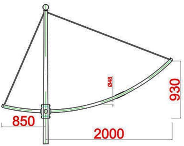 Cột đèn cao áp MB12-D