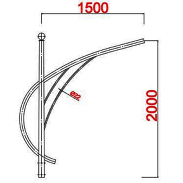 Cột bát giác MB01-D