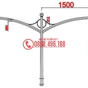 Cột thép bát giác MB08-K