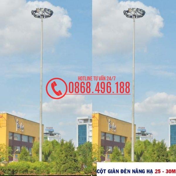 Cột giàn đèn nâng hạ 25 – 30m