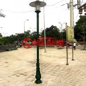 Cột sân vườn Bamboo lắp đèn Jupiter