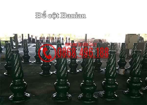 đế Cột sân vườn Banian
